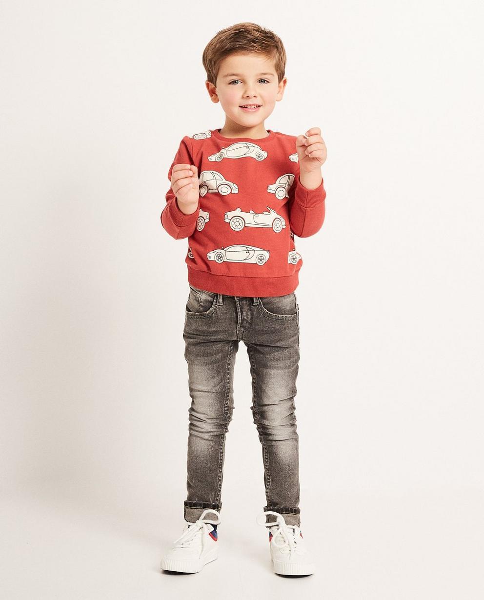 Skinny Straight Jeans THOMAS - mit Waschung - JBC